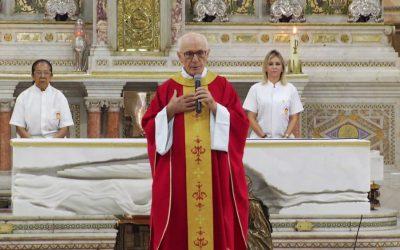 Homilia 26 Set 2019 (Qui) 07h – Pe. Giovanni Maria Incampo, CRSP – Paróquia N. Sra. de Nazaré do Desterro