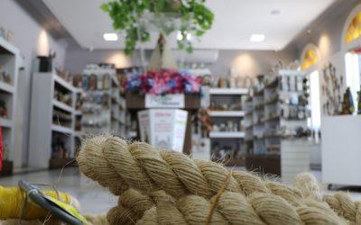 Corda do Círio de Nazaré está em exposição na Loja Lírio Mimoso