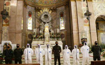 Círio 2020: Basílica Santuário passa por sanitização