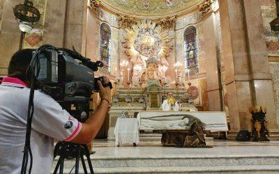 Em casa: transmissões das celebrações litúrgicas auxiliam fiéis durante isolamento social