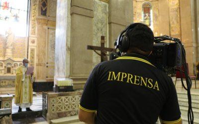 Basílica Santuário de Nazaré transmitirá a Santa Missa em mais uma emissora