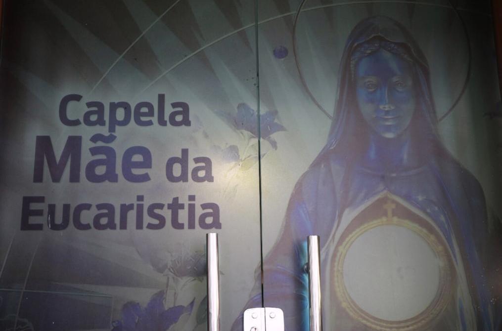 Capela Mãe da Eucaristia foi inaugurada nesta quarta-feira, 20!