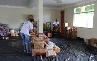 Casa da Caridade arrecada alimentos